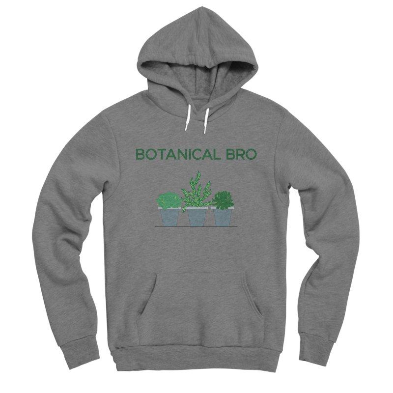 Botanical Bro Men's Pullover Hoody by Bloom & Grow Radio Shop