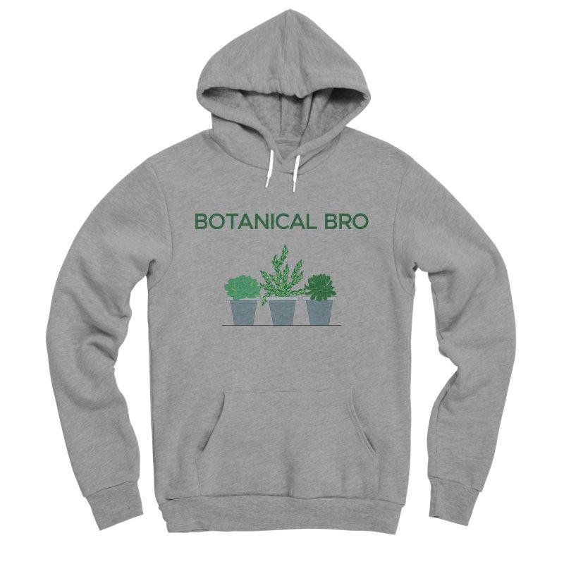 Botanical Bro Men's Sponge Fleece Pullover Hoody by Bloom & Grow Radio Shop
