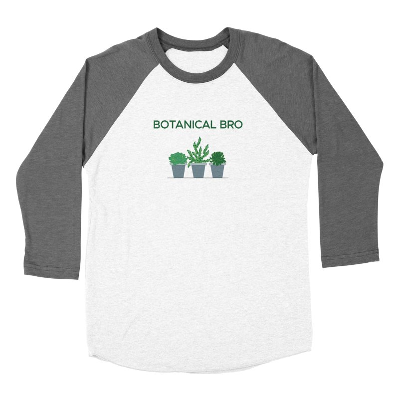 Botanical Bro Men's Longsleeve T-Shirt by Bloom & Grow Radio Shop