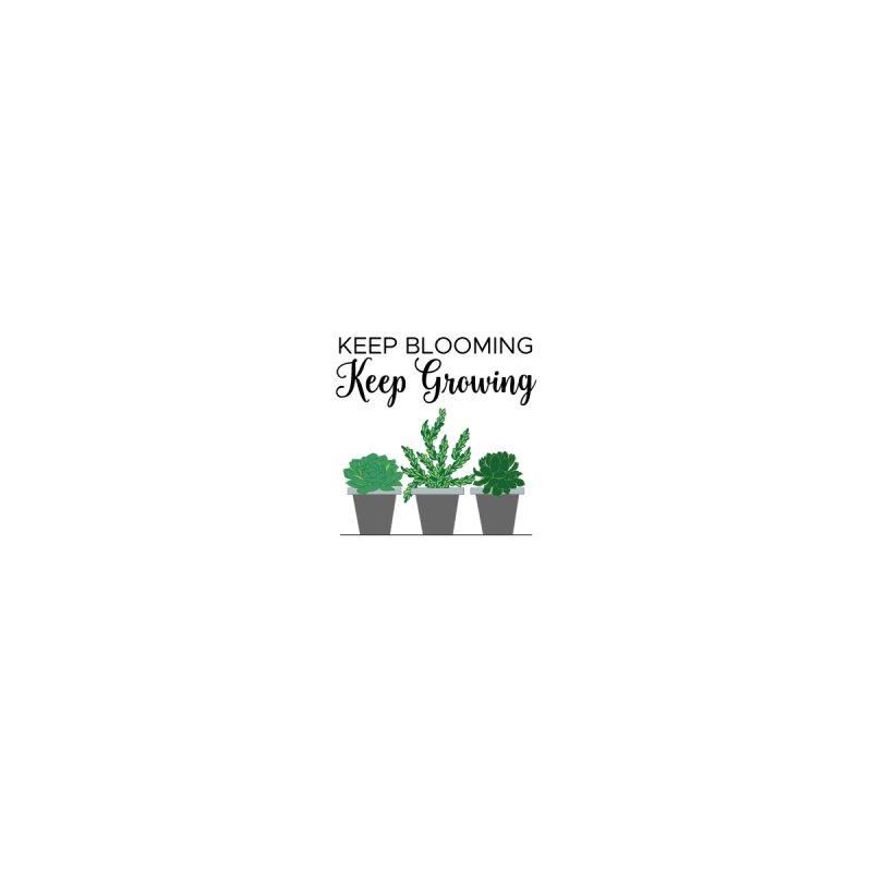 Keep Blooming Women's T-Shirt by Bloom & Grow Radio Shop