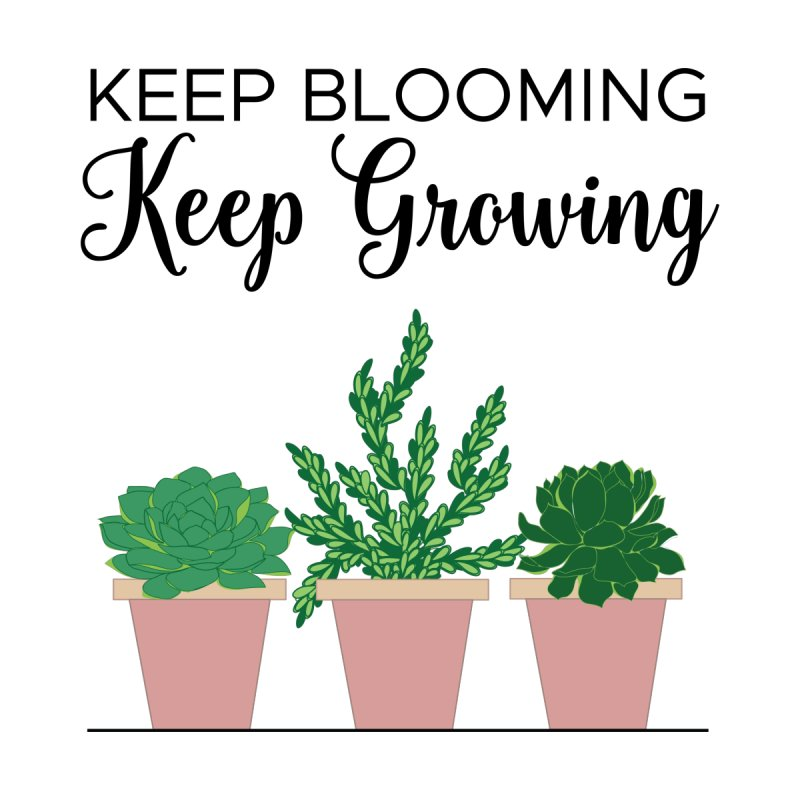 Keep Blooming Pink by Bloom & Grow Radio Shop