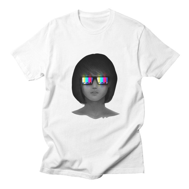 Tele Vision Men's T-Shirt by Sam Arias