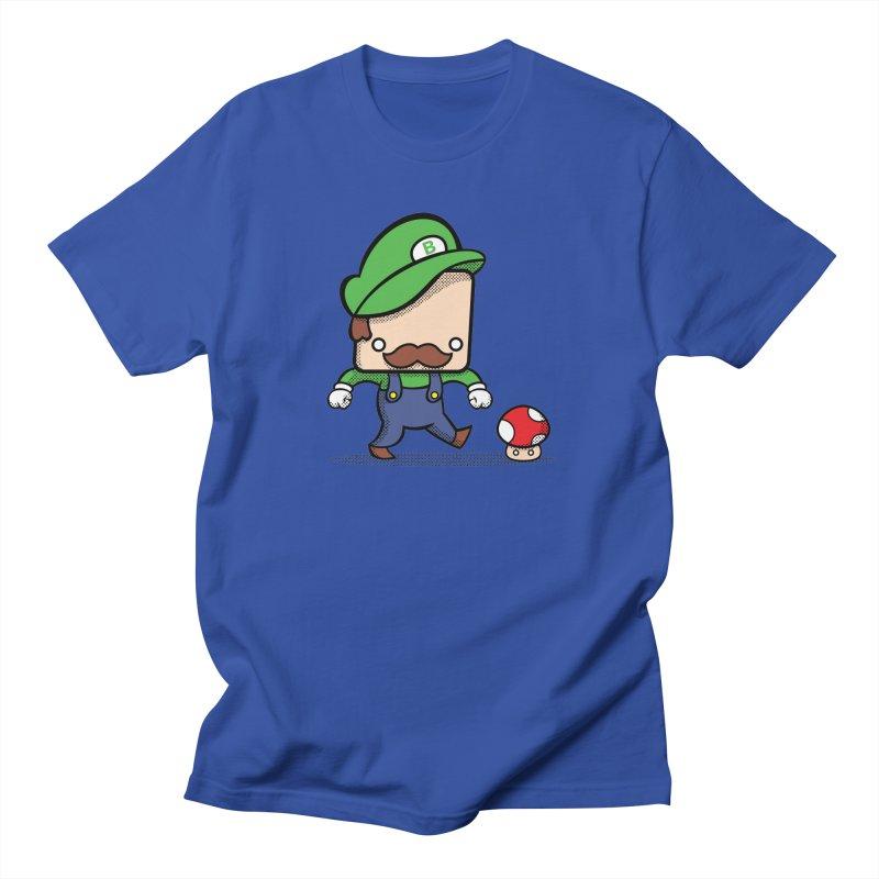 Loving Life Men's T-Shirt by Bloque Art