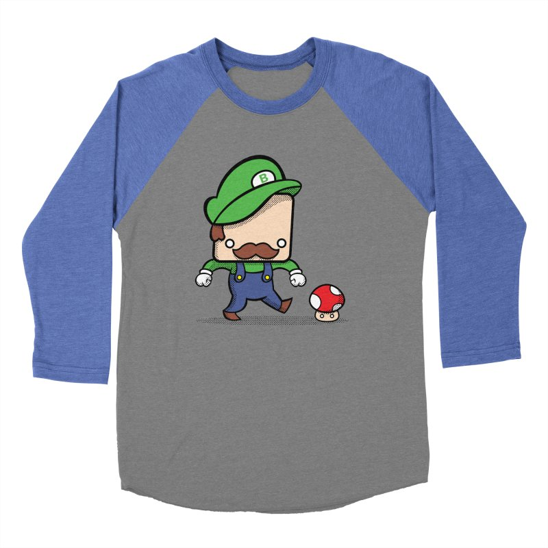 Loving Life Women's Baseball Triblend T-Shirt by Bloque Art