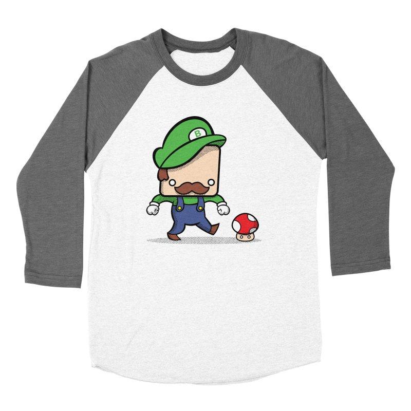 Loving Life Men's Baseball Triblend T-Shirt by Bloque Art