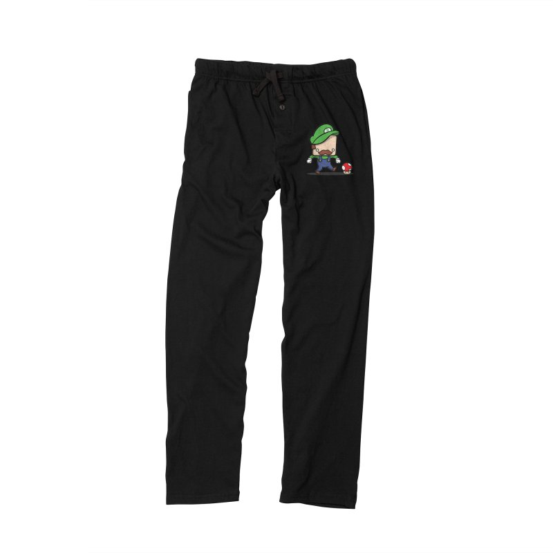 Loving Life Men's Lounge Pants by Bloque Art