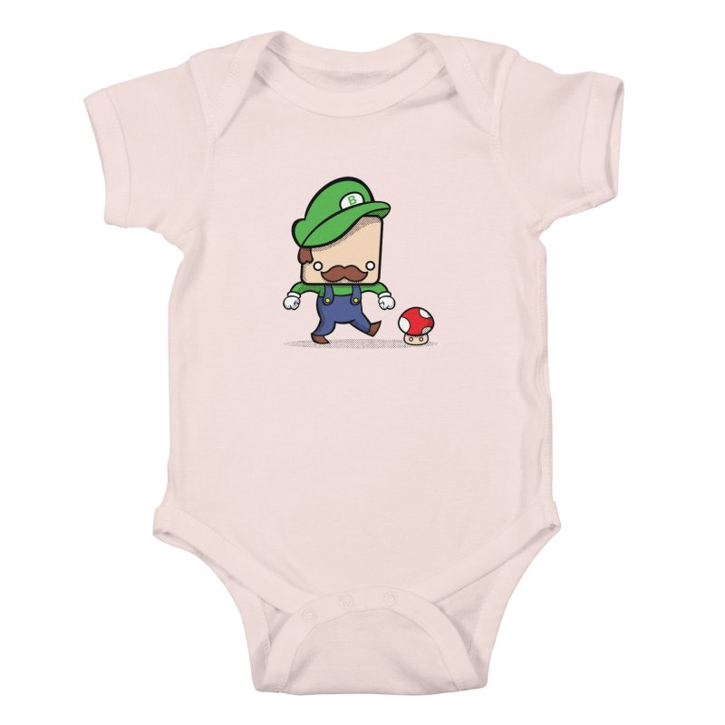 Loving Life Kids Baby Bodysuit by Bloque Art