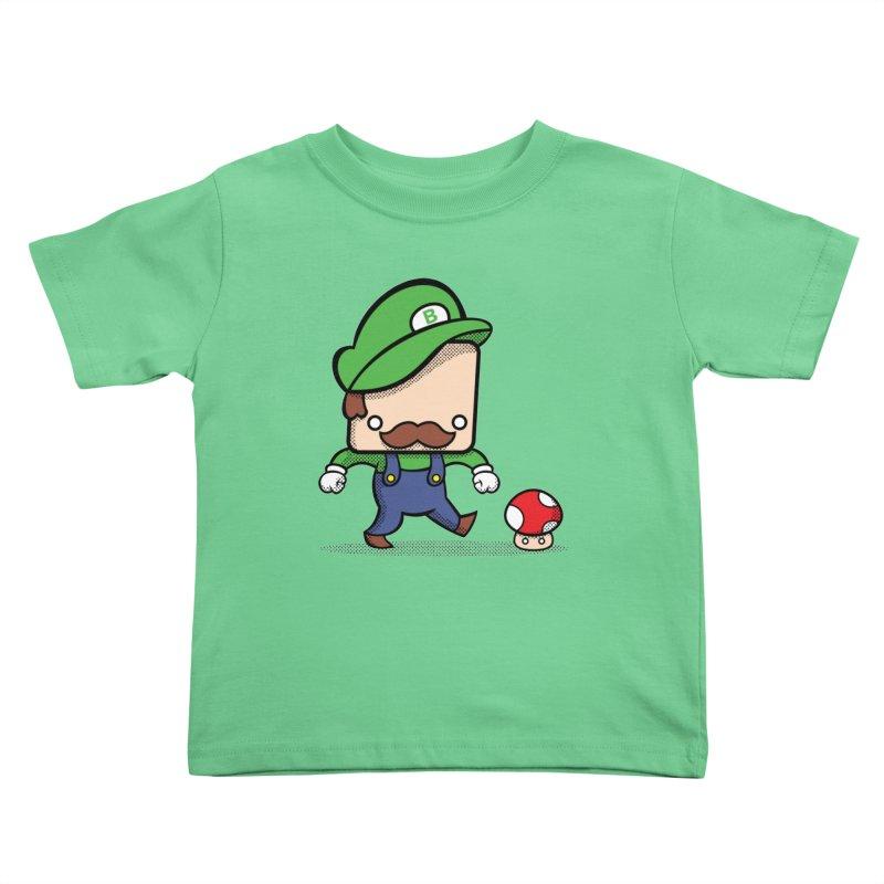 Loving Life Kids Toddler T-Shirt by Bloque Art