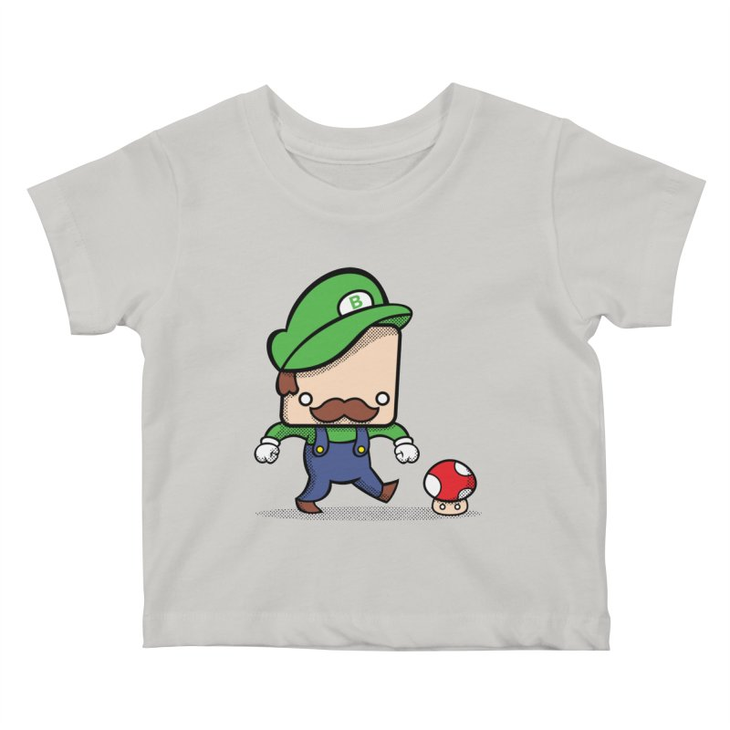 Loving Life Kids Baby T-Shirt by Bloque Art