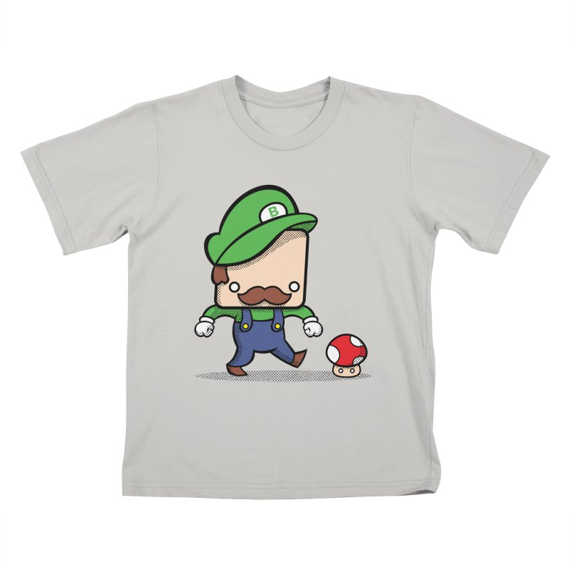 Loving Life Kids T-shirt by Bloque Art