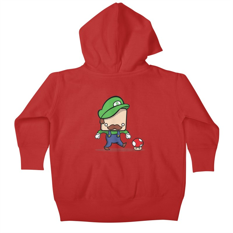 Loving Life Kids Baby Zip-Up Hoody by Bloque Art