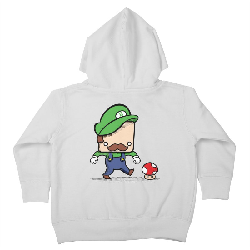 Loving Life Kids Toddler Zip-Up Hoody by Bloque Art