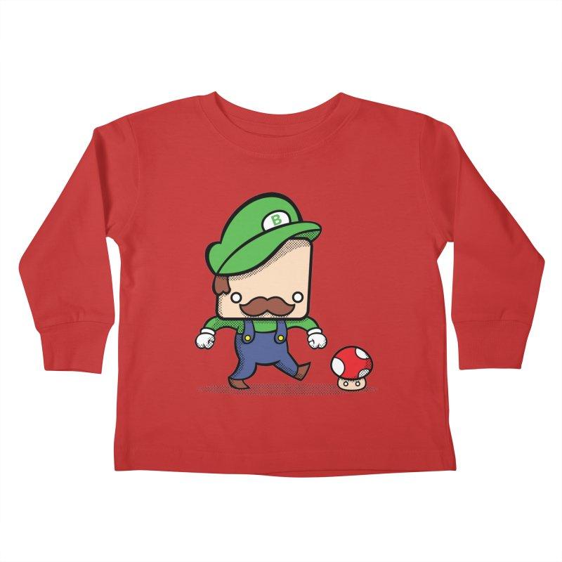 Loving Life Kids Toddler Longsleeve T-Shirt by Bloque Art