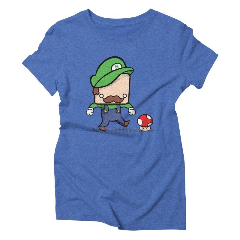 Loving Life Women's Triblend T-shirt by Bloque Art