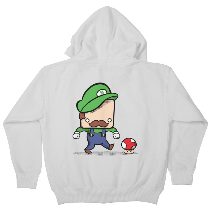 Loving Life Kids Zip-Up Hoody by Bloque Art