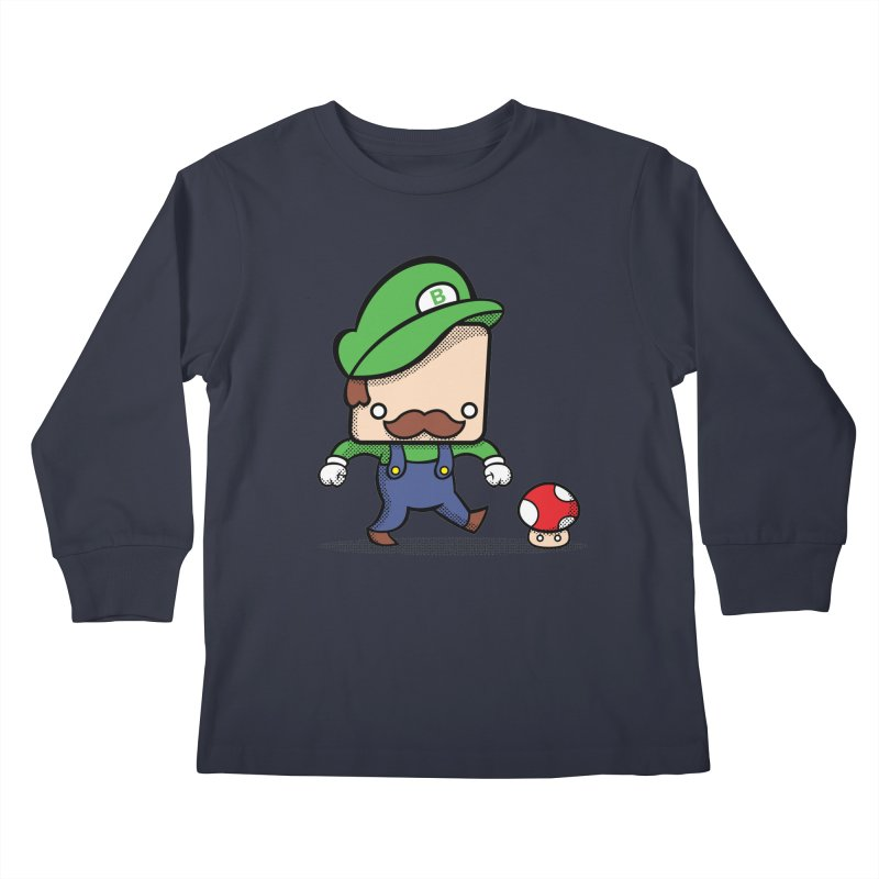 Loving Life Kids Longsleeve T-Shirt by Bloque Art
