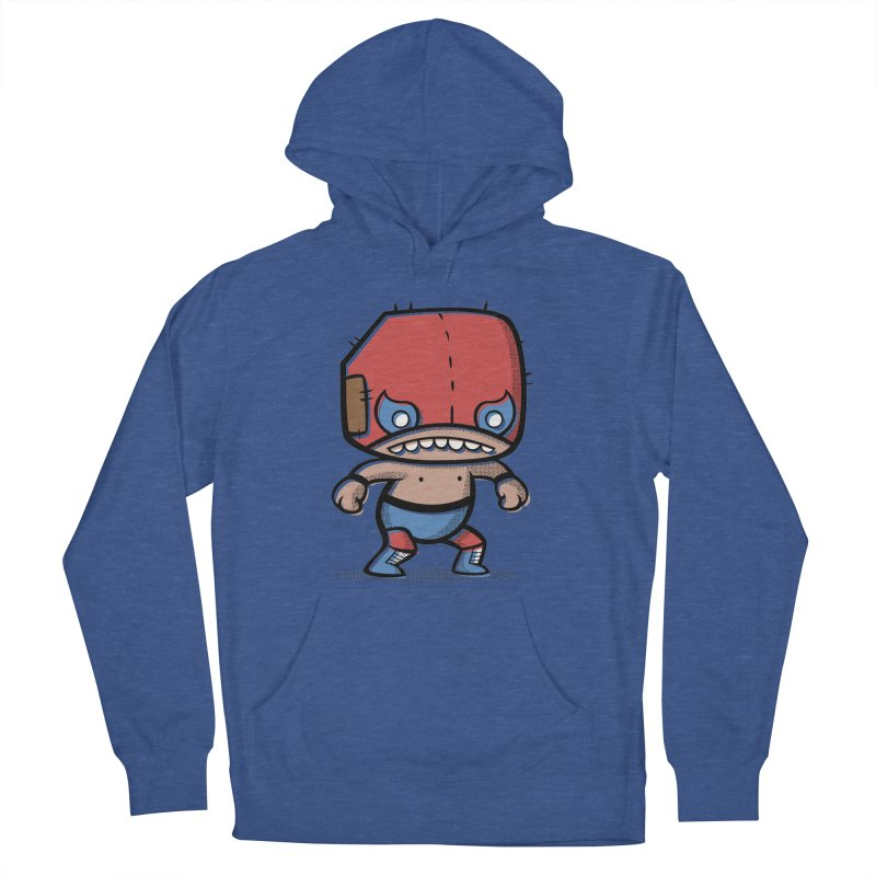Lucha Libre Women's Pullover Hoody by Bloque Art