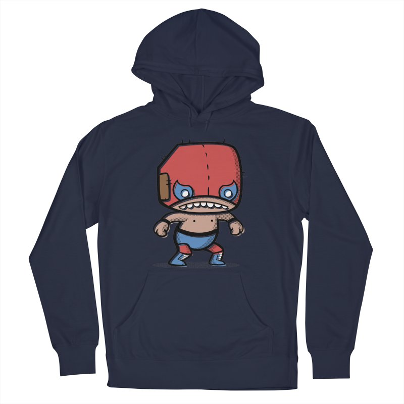Lucha Libre Men's Pullover Hoody by Bloque Art