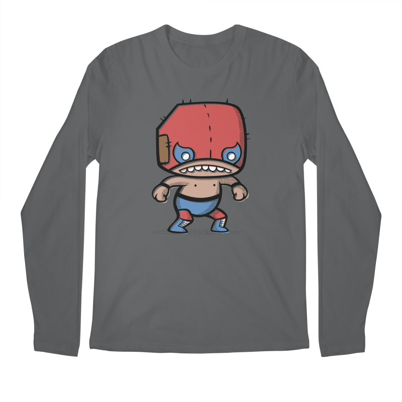 Lucha Libre Men's Longsleeve T-Shirt by Bloque Art