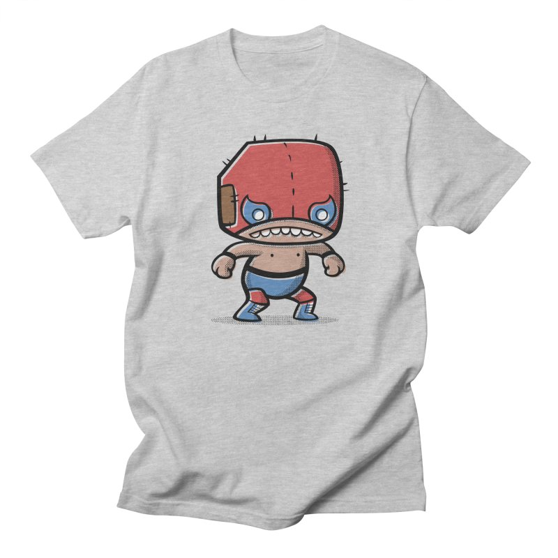 Lucha Libre Men's T-shirt by Bloque Art