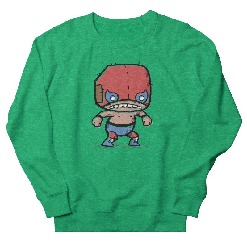 Lucha Libre Women's Sweatshirt by Bloque Art