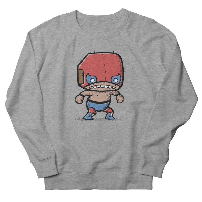 Lucha Libre Men's Sweatshirt by Bloque Art