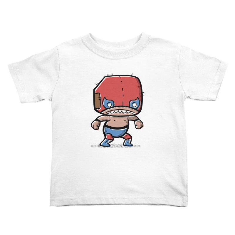 Lucha Libre Kids Toddler T-Shirt by Bloque Art