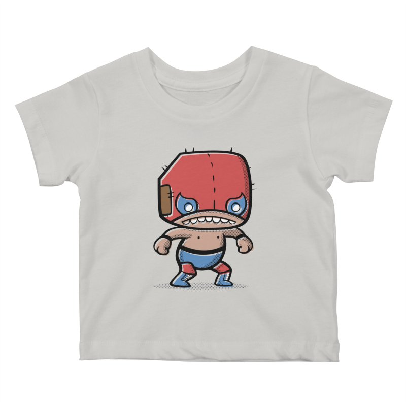 Lucha Libre Kids Baby T-Shirt by Bloque Art
