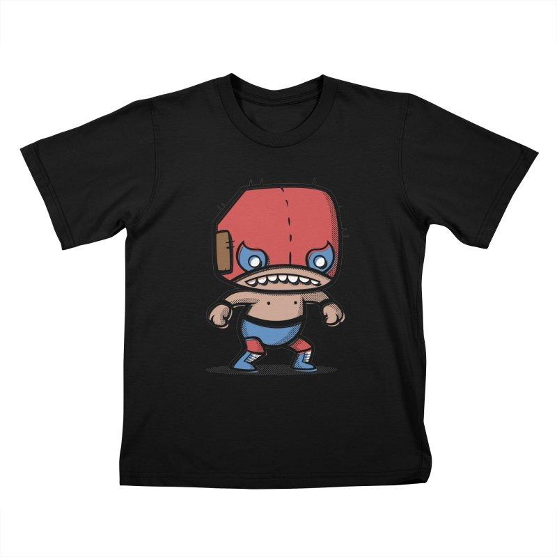 Lucha Libre Kids T-shirt by Bloque Art