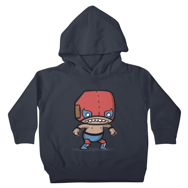 Lucha Libre Kids Toddler Pullover Hoody by Bloque Art