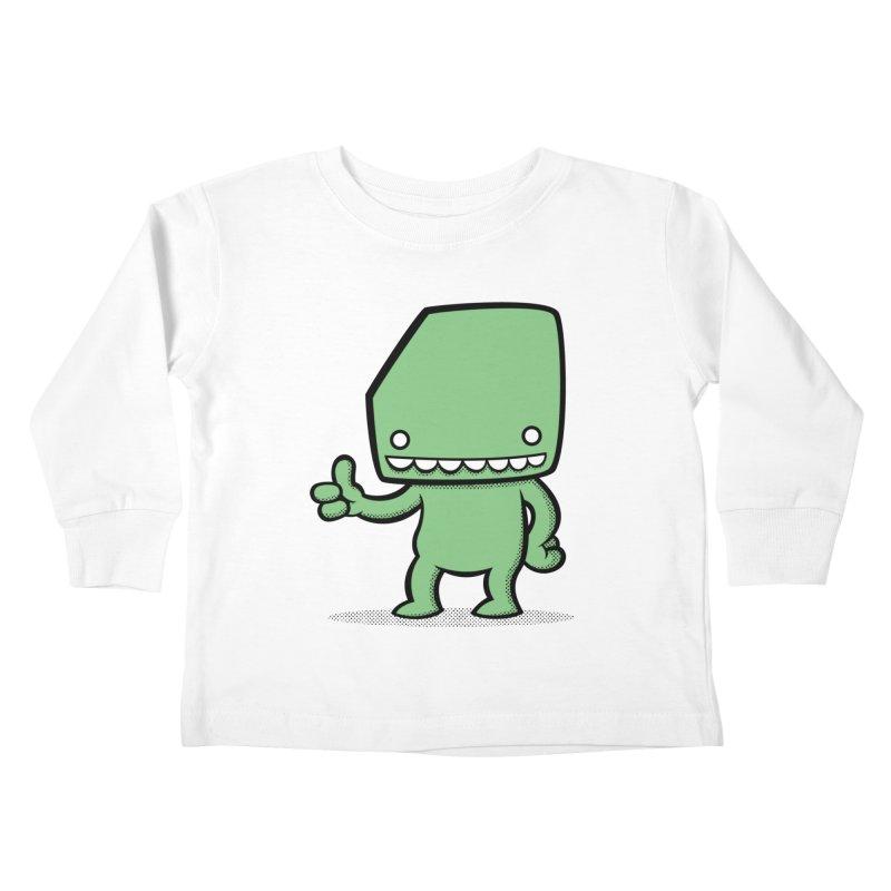 Bloque Classic Kids Toddler Longsleeve T-Shirt by Bloque Art