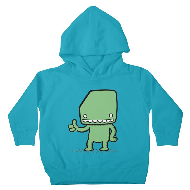 Bloque Classic Kids Toddler Pullover Hoody by Bloque Art