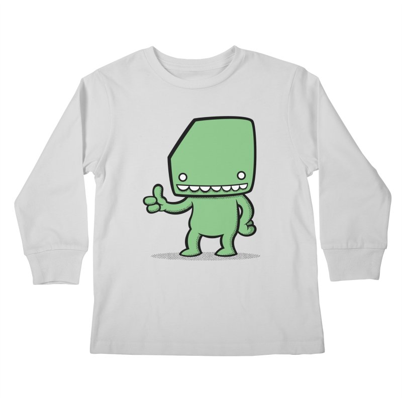 Bloque Classic Kids Longsleeve T-Shirt by Bloque Art