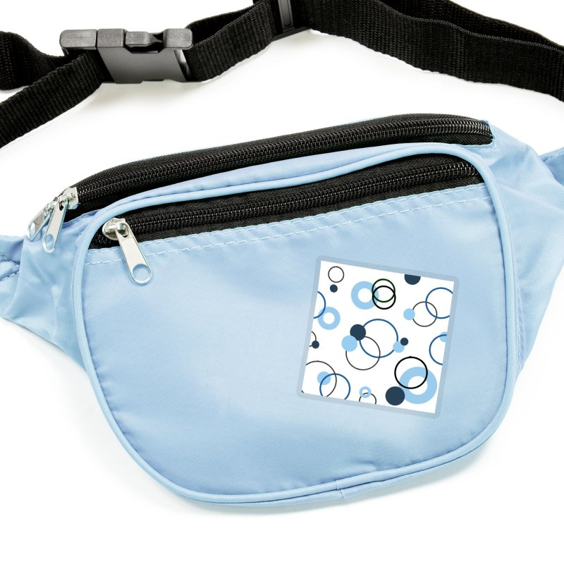 Blue, Navy, Circles, Pattern, Design, Dots, Geometric Accessories Sticker by BlueBellaDonna