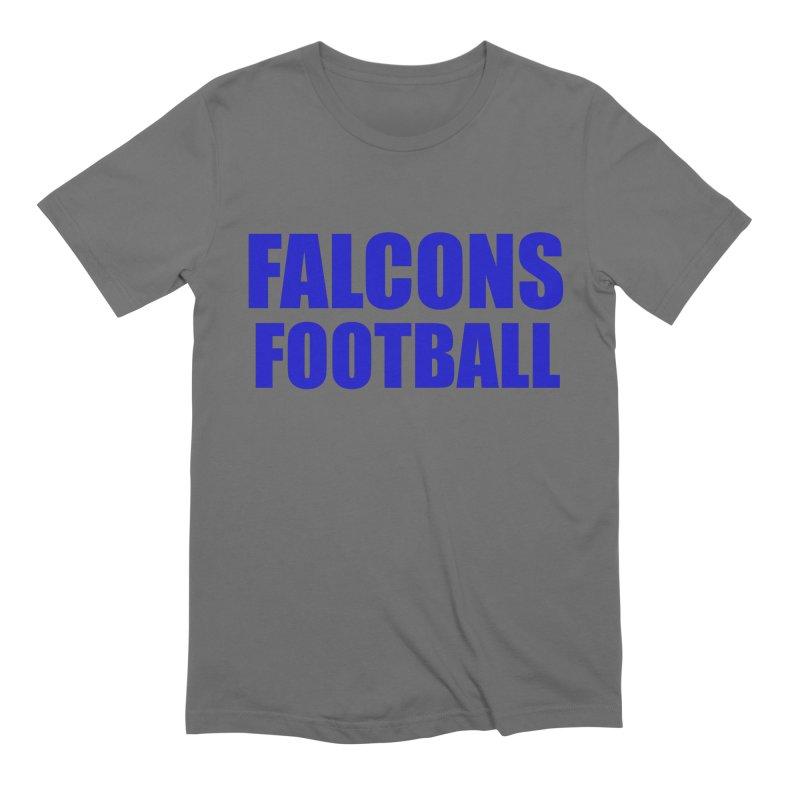 Falcons Football Men's Extra Soft T-Shirt by Blue Chip Mindset