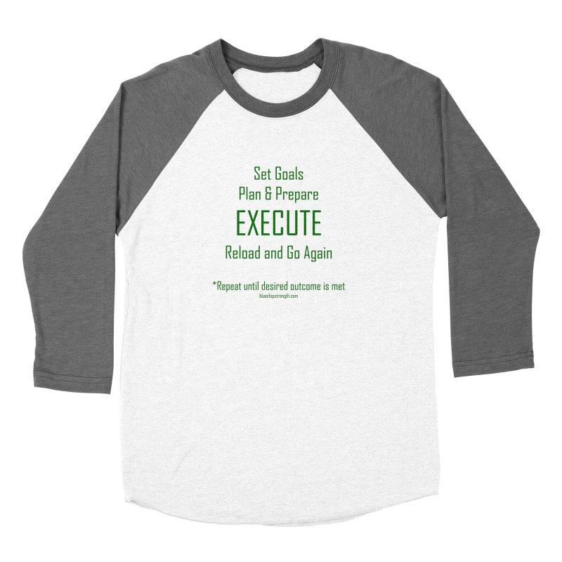 POA Women's Baseball Triblend Longsleeve T-Shirt by Blue Chip Mindset