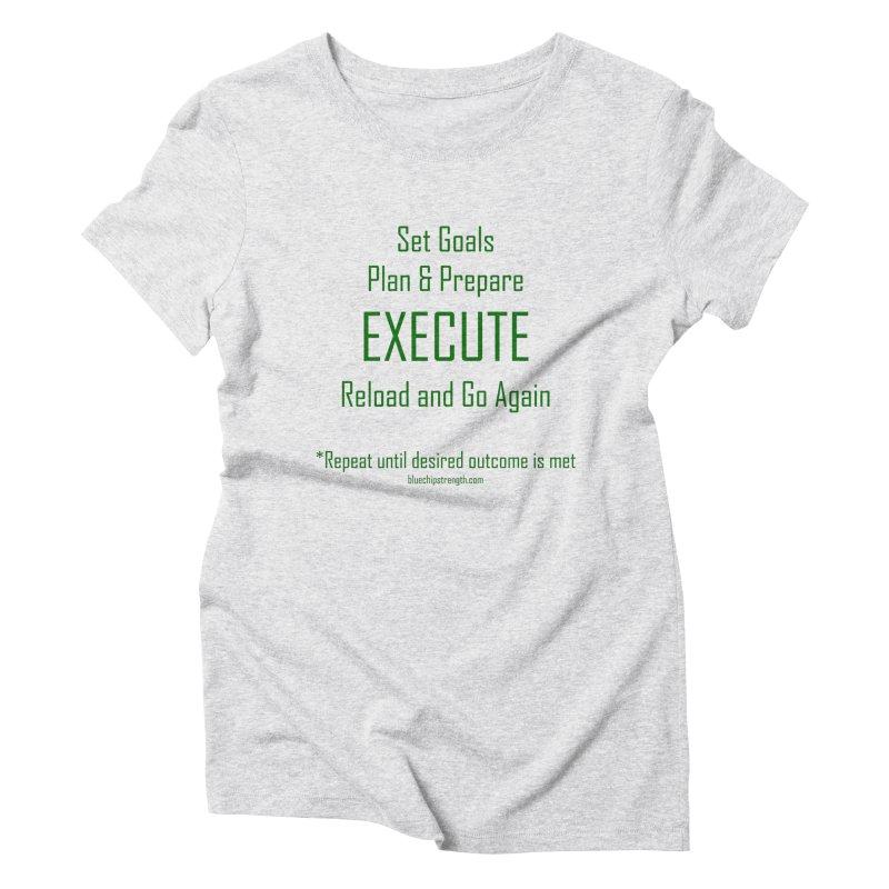 POA Women's Triblend T-Shirt by Blue Chip Mindset