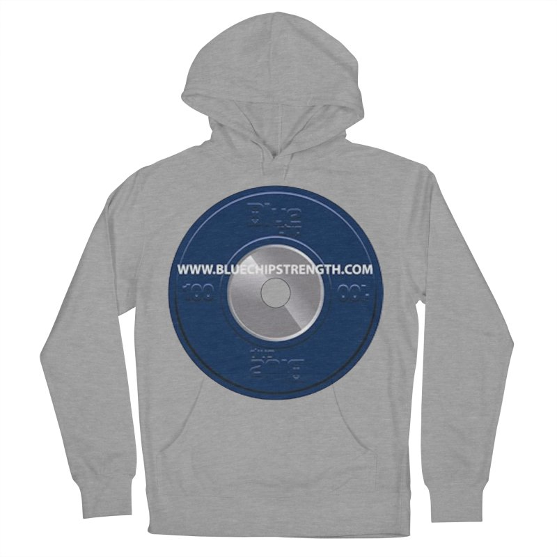 The Logo (Available in multiple colors) Men's French Terry Pullover Hoody by Blue Chip Strength's Artist Shop