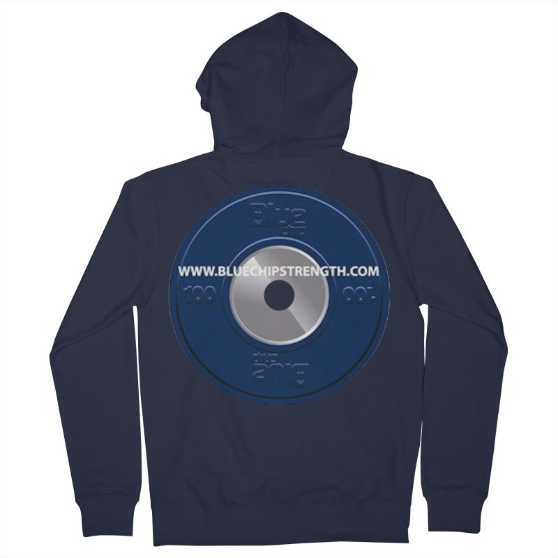 The Logo (Available in multiple colors) Women's French Terry Zip-Up Hoody by Blue Chip Mindset