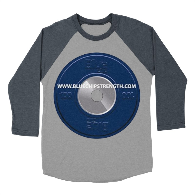 The Logo (Available in multiple colors) Men's Baseball Triblend Longsleeve T-Shirt by Blue Chip Strength's Artist Shop