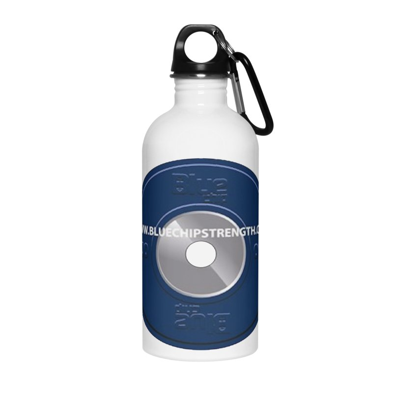 The Logo (Available in multiple colors) Accessories Water Bottle by Blue Chip Mindset