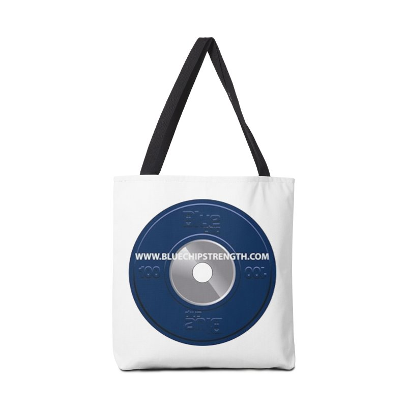 The Logo (Available in multiple colors) Accessories Bag by Blue Chip Strength's Artist Shop