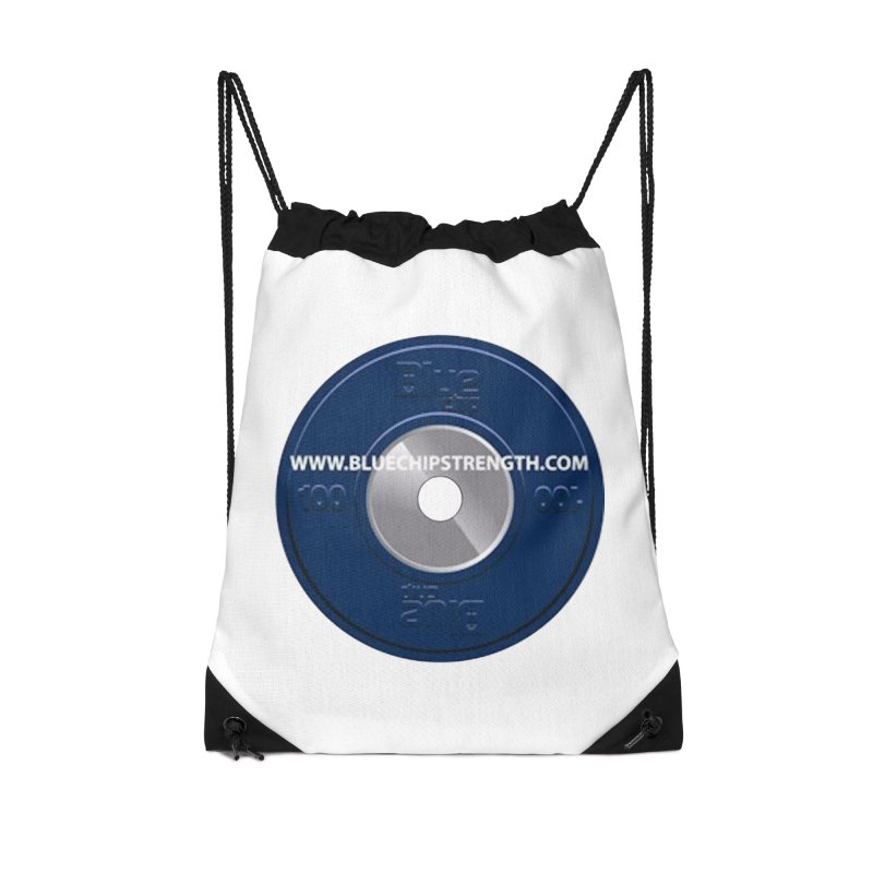 The Logo (Available in multiple colors) Accessories Drawstring Bag Bag by Blue Chip Mindset