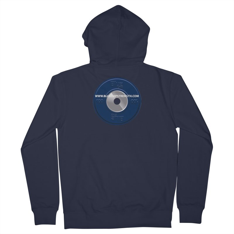 The Logo (Available in multiple colors) Women's Zip-Up Hoody by Blue Chip Mindset