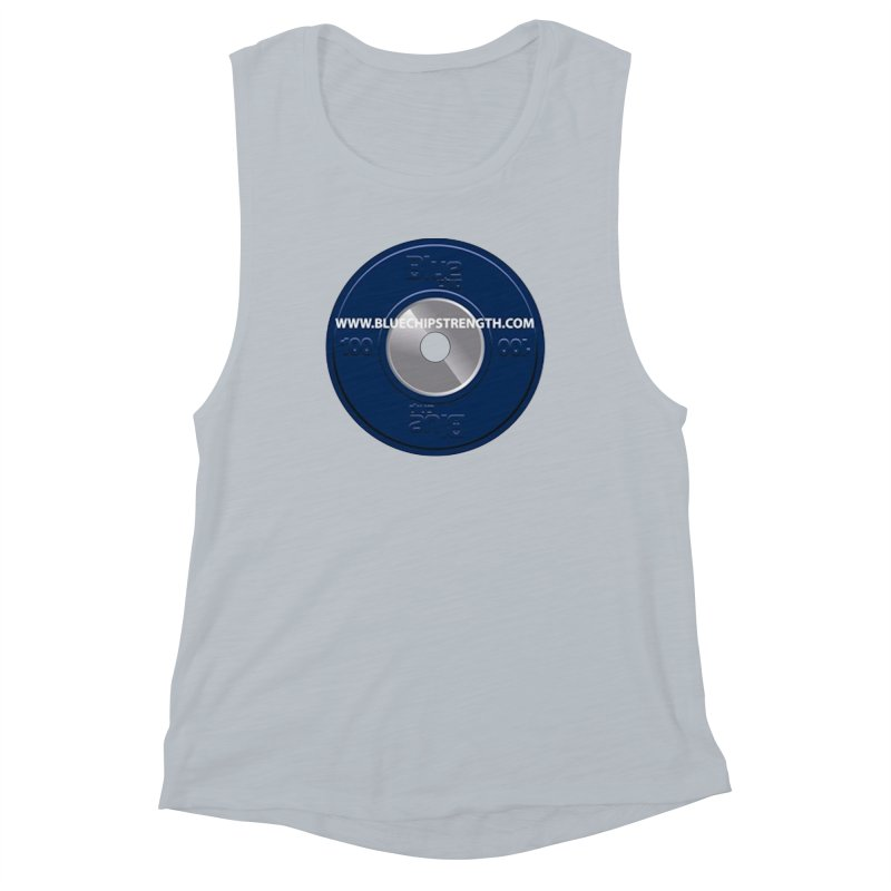 The Logo (Available in multiple colors) Women's Muscle Tank by Blue Chip Mindset