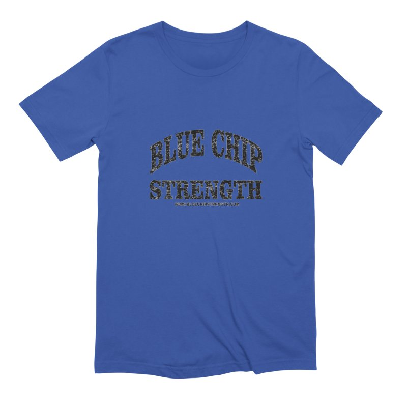 Blue Chip (Available in multiple colors) Men's Extra Soft T-Shirt by Blue Chip Mindset