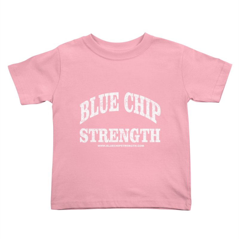 Blue Chip (Available in multiple colors) Kids Toddler T-Shirt by Blue Chip Mindset