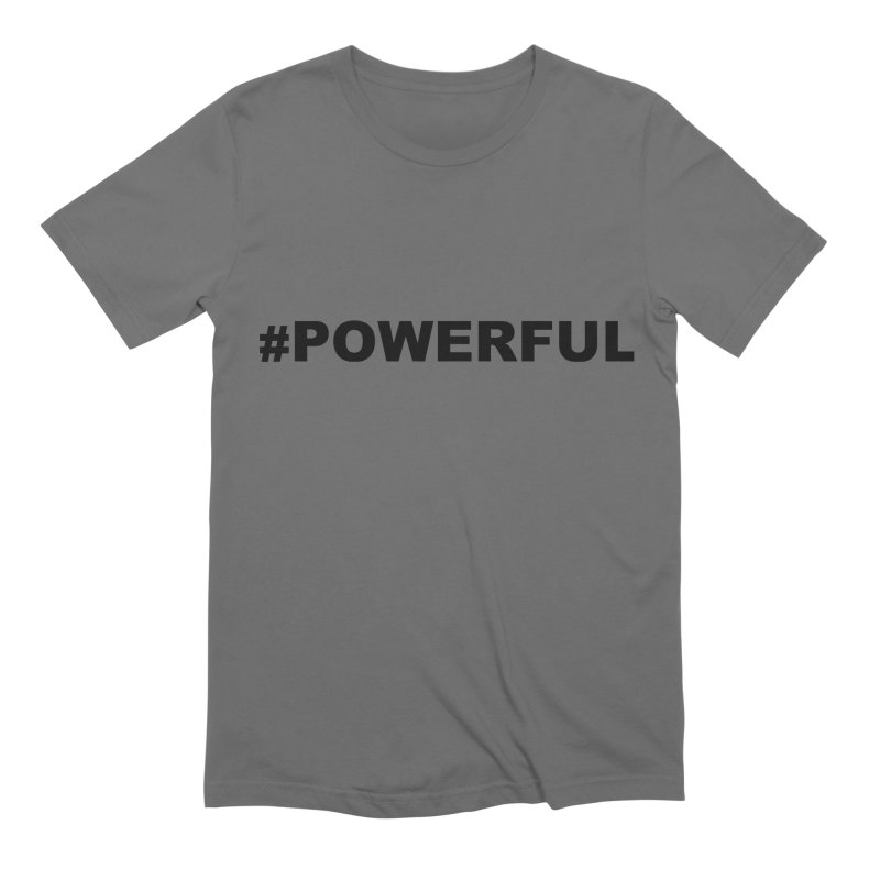 POWERFUL Men's Extra Soft T-Shirt by Blue Chip Mindset