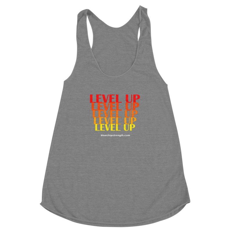 Level Up Women's Tank by Blue Chip Mindset