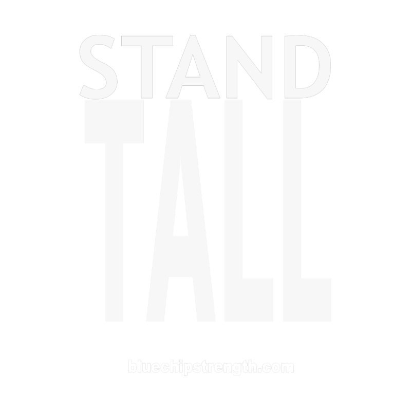 STAND TALL Men's Tank by Blue Chip Mindset